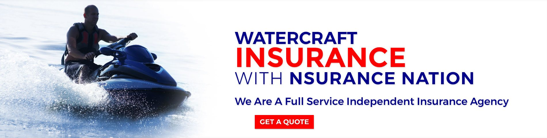 Watercraft Insurance Jacksonville, Beaches, St Augustine